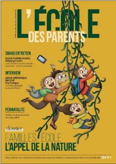 Couverture revue Ecole des Parents